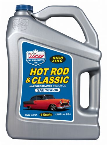Lucas 10W-40 Hot Rod & Classic Car Motor Oil